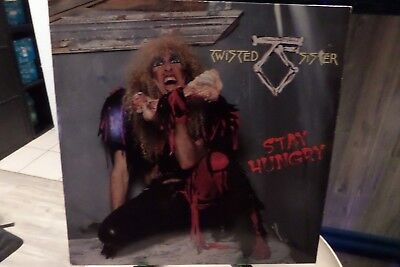 "LP ""Twisted Sister""-Stay Hungry,OIS,1984 Atlantic,780 156-1,VG++/VG++"