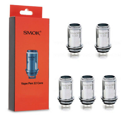 Smok² Vape-Pen 22 Replacement Dual Coil Tank Nicr Coils 0.3/0.15ohm High quality