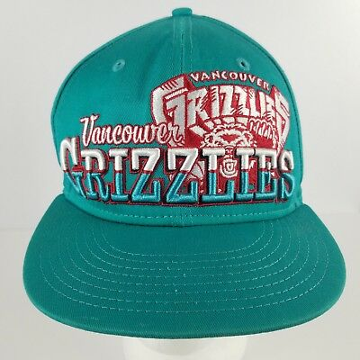91ee3c5343f Vancouver Grizzlies Rare New Era 9Fifty Embroidered Embossed Snapback Hat
