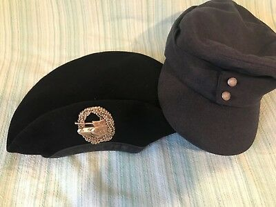 2 German military hats