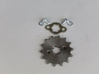 14 Teeth Front Drive Gear AK for 420 Chain for ATVs, DIRT BIKES,CHOPPERS, GO KAR