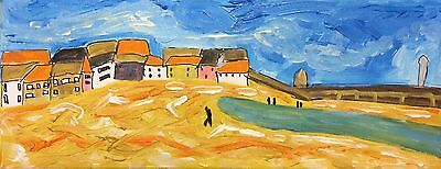 St Ives Harbour 2 Nigel Waters New July 17 Original Acrylic Canvas Painting