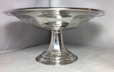Lovely Vintage Mappin & Webb Silver Plate Footed Bowl Dish Tatza