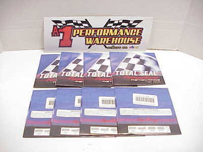 "8 NEW Total Seal Diamond Finish Piston Rings ECR301- 3.9250""-.0274""  NASCAR BB13"