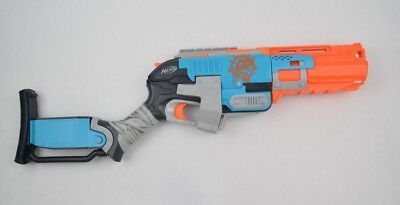 Nerf Gun Zombie Strike SledgeFire Dart NStrike Elite Raider CS-35 Blue Orange DS