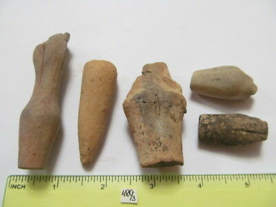 Parts of clay toys Trypillian Culture4-3 millennia BC № 480/3.