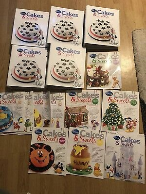 Disney cakes And Sweets Magazine Complete Bundle Including 1-83 Set And Extras🎉