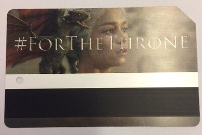 Game Of Thrones New York City MetroCard - Daenerys Targaryen, LIMITED EDITION