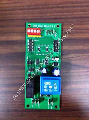 Ipso / Launder Center Coin Counter Board NEW 209/00245/00