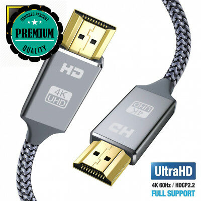4K HDMI Cable 2M Lead-Snowkids Ultra High Speed 18Gbps 2.0 4K@60Hz...