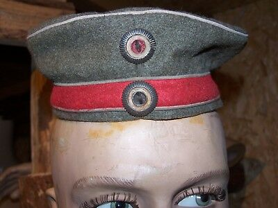 WW1 14 18 ALLEMAND GERMAN  mutze feldgrau hussar