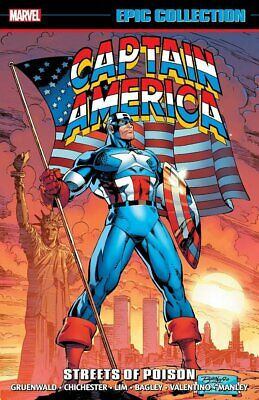Captain America: Epic Collection - Streets Of Poison Tpb Vf/Nm Marvel