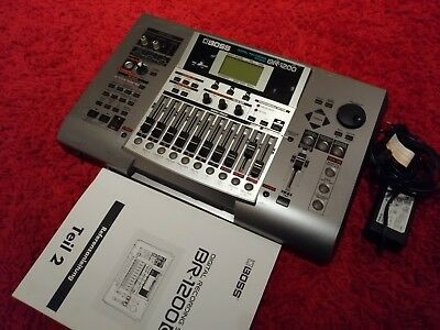 Boss BR-1200 Digital Recording Studio 80GB HD