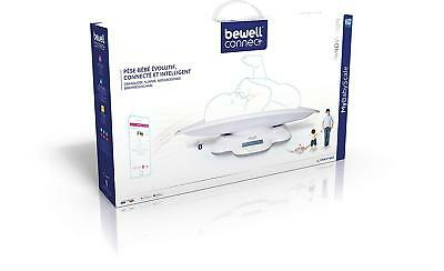 Pese bebe Bewell Connect Connecté MyBabyScale