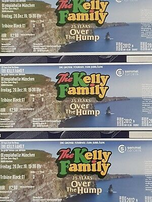 3×Kelly Family Over the Hump Olympiahalle München