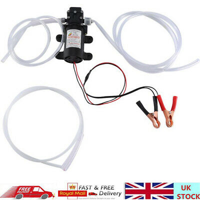 12V 60W Car Engine Oil Transfer Extractor Pump Fluid Water Diesel Electric Pump