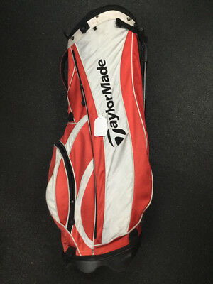 Taylormade Red White Used Golf Carry Bag 9f5ad77197ff6