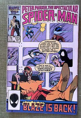 MARVEL COMICS PETER PARKER,THE SPECTACULAR SPIDER-MAN issue 123