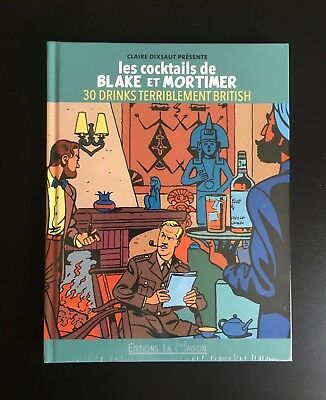 Jacobs ** Les Cocktails De Blake Et Mortimer ** 30 Drinks Terriblement British !