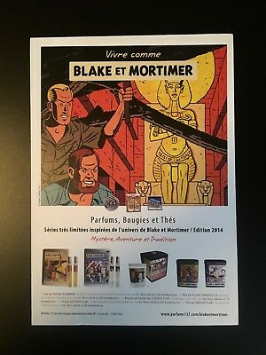 ** E.p. Jacobs ** Blake Et Mortimer ** Presentoir Promotionnel **
