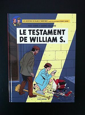 Jacobs Juillard Sente * Blake Et Mortimer * Le Testament De William S. *