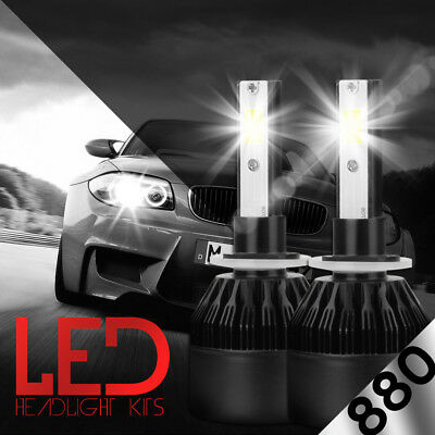 XENTEC LED HID Foglight Conversion kit 898 6000K for 2001-2004 Ford Escape