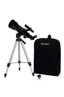 Celestron Travelscope 70 Telescope Kit Astronomy Reflector View The Planets,