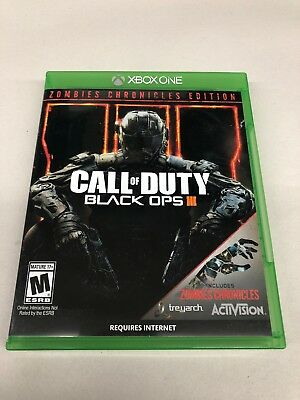 Call of Duty: Black Ops III - Zombies Chronicles Edition - Xbox One USED