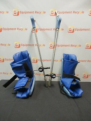 Allen Medical Systems Stirrup System SAM III Lot of 2 Medical Surgery Pair