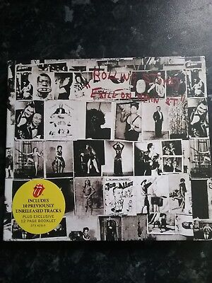 ROLLING STONES - Exile On Main Street (CD 2010) Deluxe Remastered double disc