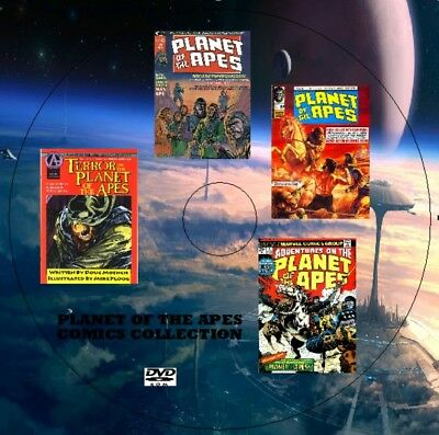 Planet Of The Apes British & American Digital Comics Collection On Dvd Uk