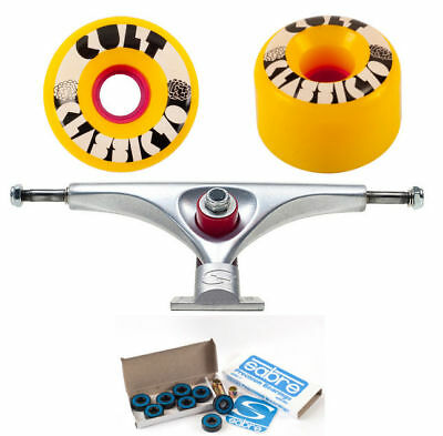 Longboard Combo Upgrade Setup Pack Sabre Trucks, Cult Wheels UVP 156,00€
