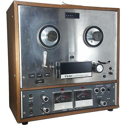 Vintage Teac A-4010S Reel to Reel- Automatic Reverse Tape Deck For Parts/ Repair