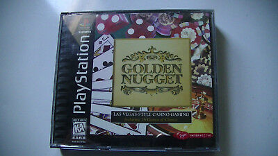 Golden Nugget (Sony PlayStation 1, 1997) Video Game