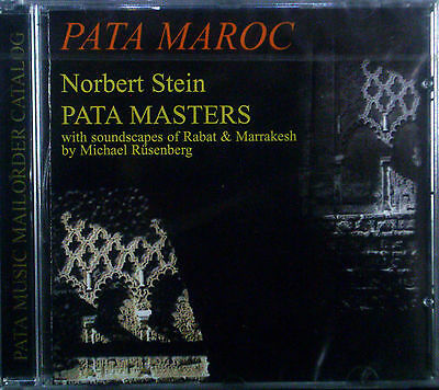 CD Norbert Stone - Pata Maroc, Pata Masters New - Original Packaging