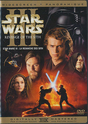 Star Wars Episode III: Revenge of the Sith (DVD, 2005, 2-Disc Set )