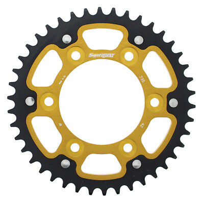New Supersprox -Stealth sprocket, 42T for Ducati Sport Classic 1000 06-09, Gold