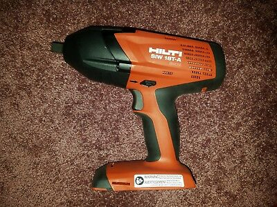 """Hilti SIW 18T-A  1/2"""" Impact Driver .Universal case.Impact sockets.Charger."""
