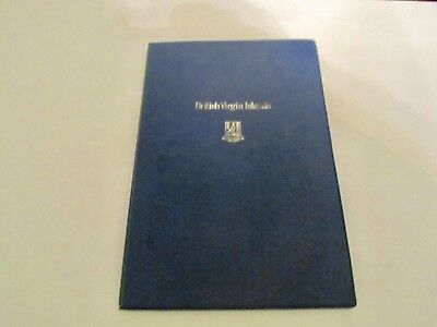 1973 British Virgin Islands First Day Of Issue Cachets Proof Coin & Stamp  Nice