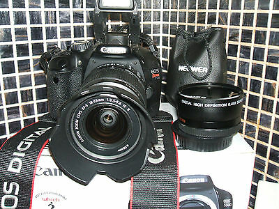 Canon EOS 550D /  18.0 MP Digital SLR Camera -  WITH THREE LENSES EF-S IS