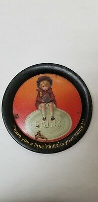 Antique advertizing tray fairy soap dish