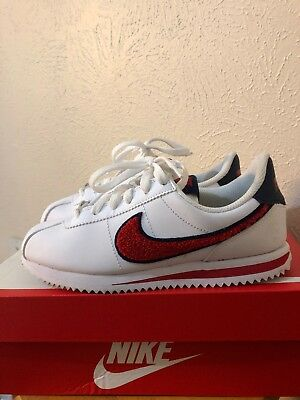 low priced 6c15c 2c696 NIKE CORTEZ/ BLUE , White , Red/ Kids 4Y
