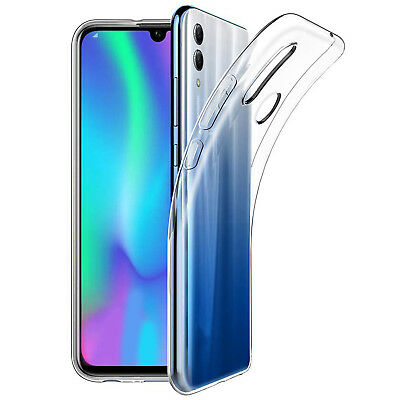 Cover Per Huawei P Smart 2019 Trasparente Custodia Morbida Sottile Tpu Slim Gel