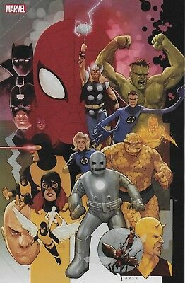 Avengers #12 Noto 80th Anniversary Variant Cover