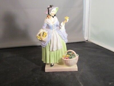 Royal Doulton Figurine Spring Flowers 7.5 Inches