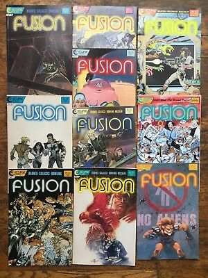 Fusion #s 1,2,3,4,5,6,7,8,9,10-VF/NM,Combined Ship