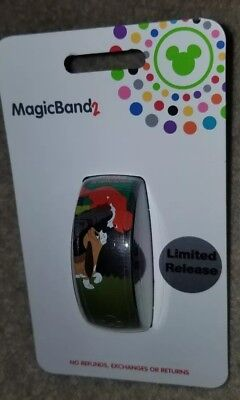 NEW Disney Parks Magic Band 2 Fox And The Hound Limited Release Green LINKABLE
