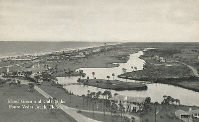 Ponte Vedra Beach * Island Green and Golf Links 1940s St. Johns Co. Jacksonville