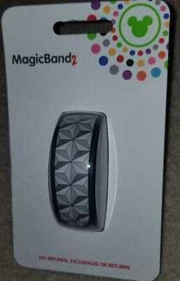 NEW Disney Park Epcot Spaceship Earth Magic Band 2 LINK IT LATER