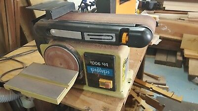 Schepach box 900x belt and disc sander